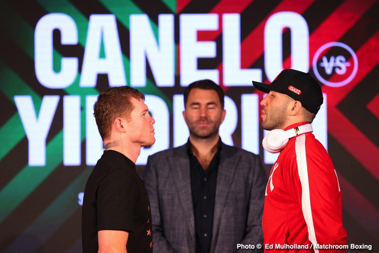 Canelo Alvarez vs. Avni Yildirim final press conference quotes - Boxing