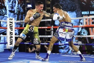 Oscar Valdez wants Shakur Stevenson next following win over Miguel Berchelt