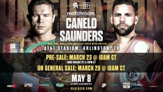 Eddie Hearn says Canelo vs. Saunders has sold 60K tickets