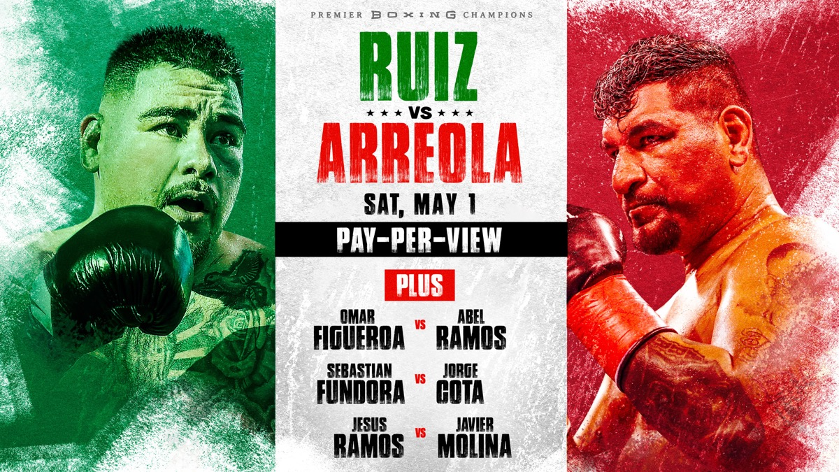 - Latest Andy Ruiz Jr. Chris Arreola