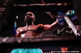 Jaron Ennis wants Keith Thurman and Yordenis Ugas next