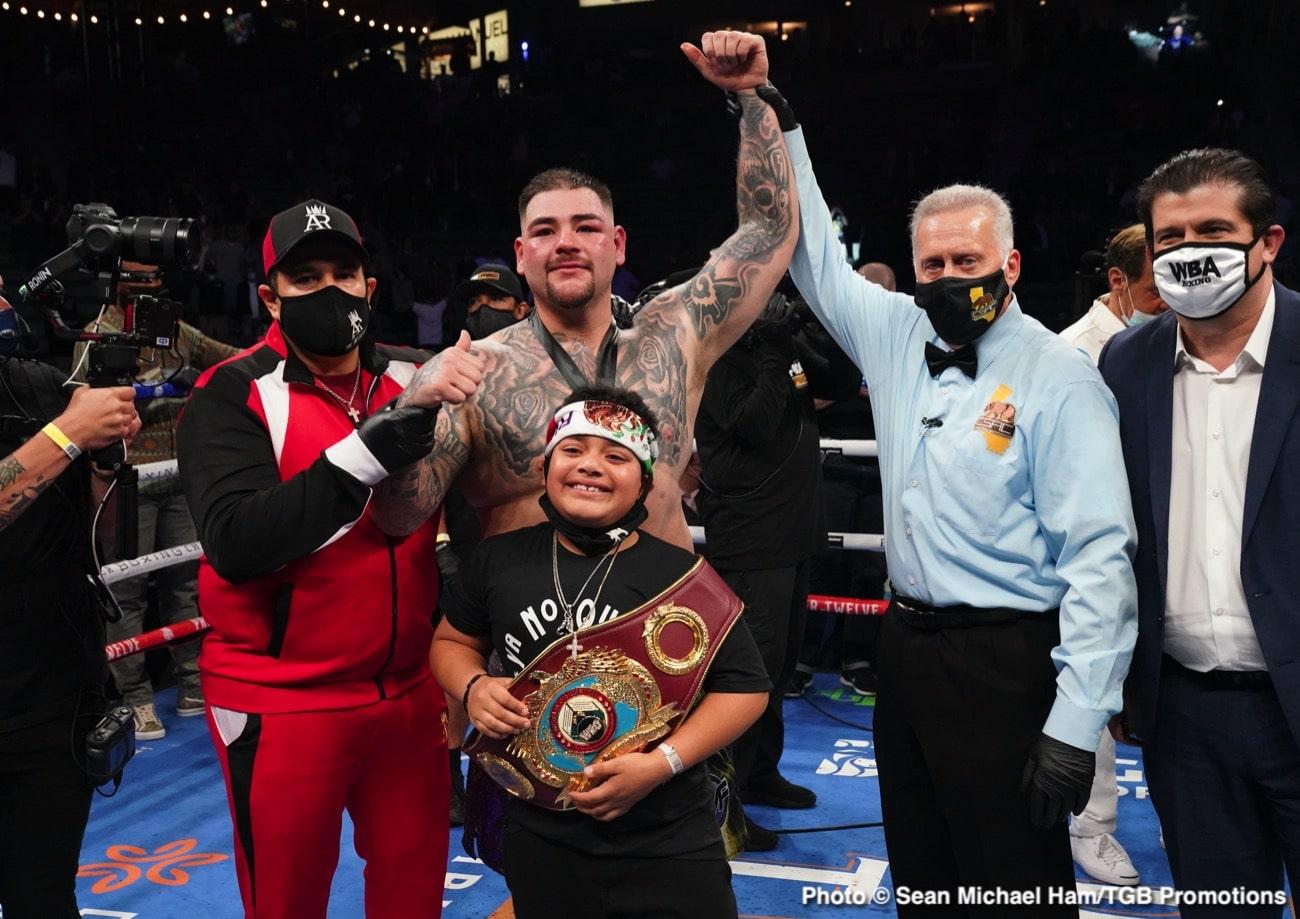 Andy Ruiz Jr. Deontay Wilder Eddie Hearn