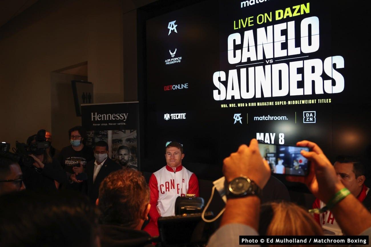 Billy Joe Saunders Canelo Alvarez