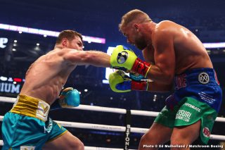 Canelo Alvarez vs. Caleb Plant close to being done for Sept.18th on Fox pay-per-view