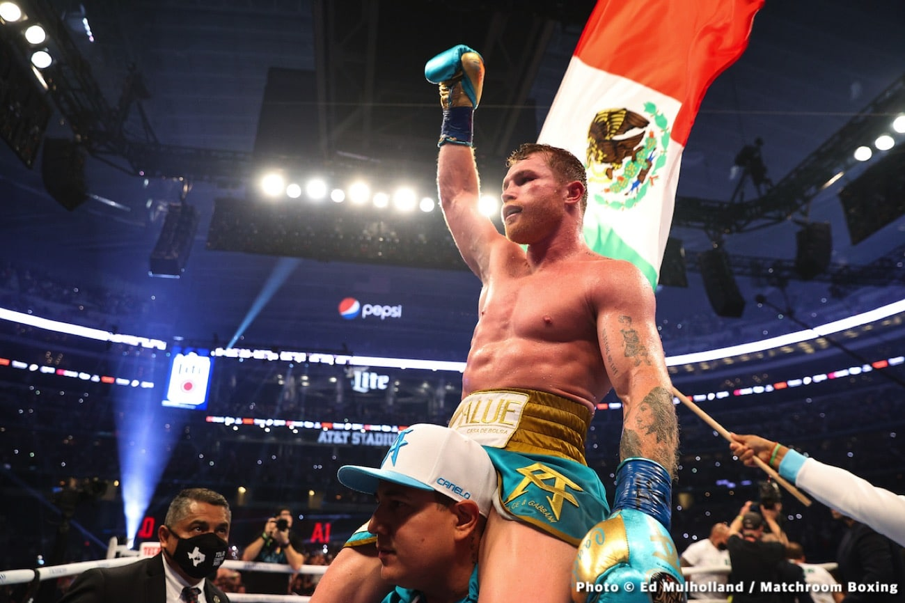 Canelo Stands Alone as the