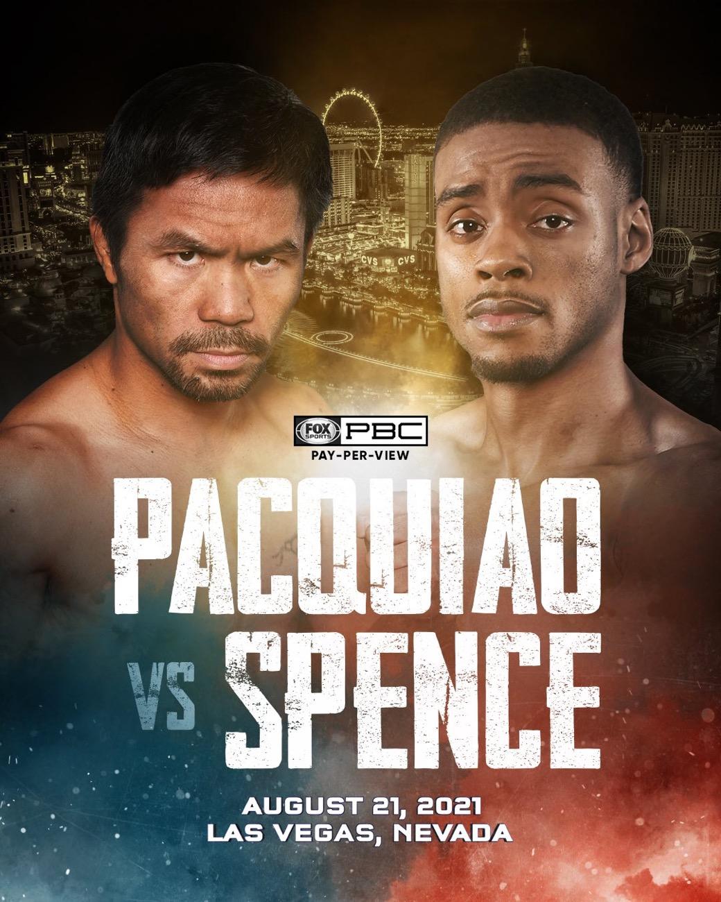 Errol Spence Jr Manny Pacquiao
