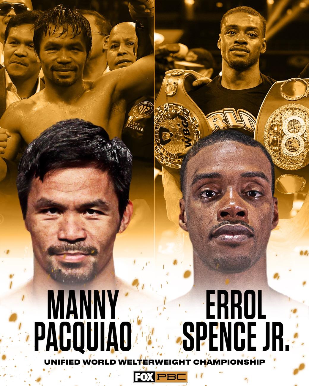 Errol Spence Jr Manny Pacquiao Nonito Donaire