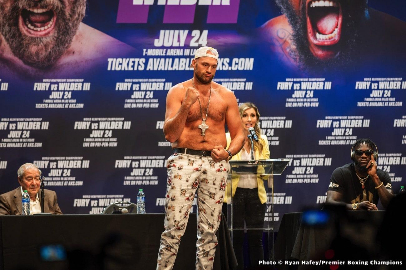 Anthony Joshua Tyson Fury
