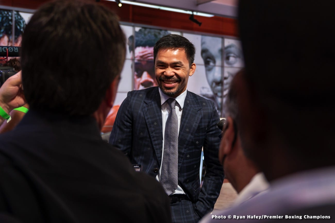 Errol Spence Jr Manny Pacquiao Shawn Porter Terence Crawford
