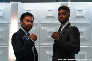 Former sparring partner Linares talks Pacquiao, warns Spence