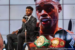Spence says Pacquiao will be passing the torch to him