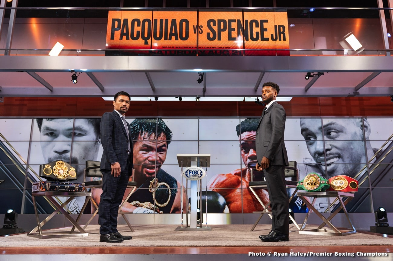 Errol Spence Jr Jorge Linares Manny Pacquiao