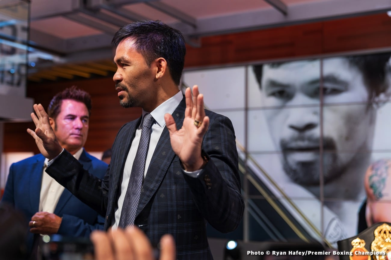 Andy Lee Errol Spence Jr Manny Pacquiao