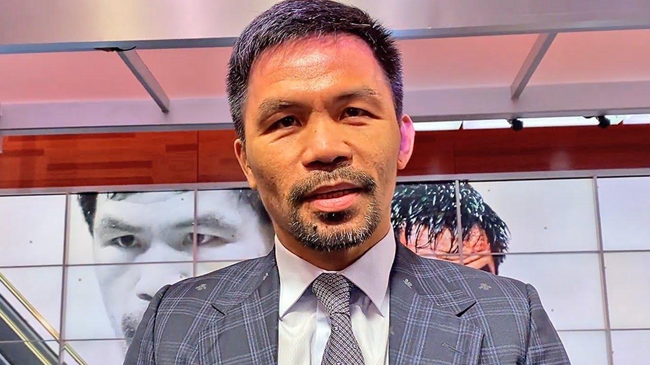 Errol Spence Jr Floyd Mayweather Jr Manny Pacquiao