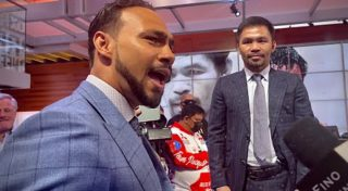 Thurman asks Pacquiao if he really named his dog Thurman?