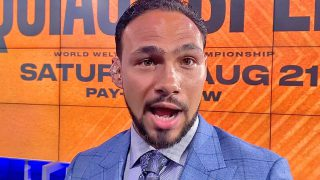 Keith 'One Time' Thurman tells Spence: 'See me,' says fight will happen