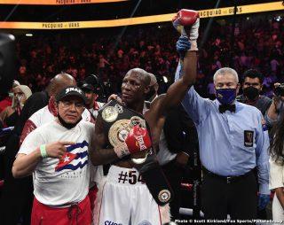 Yordenis Ugas upset with WBA ordering 4-fighter tournament