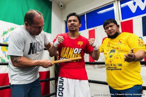 - Latest Errol Spence Jr Manny Pacquiao