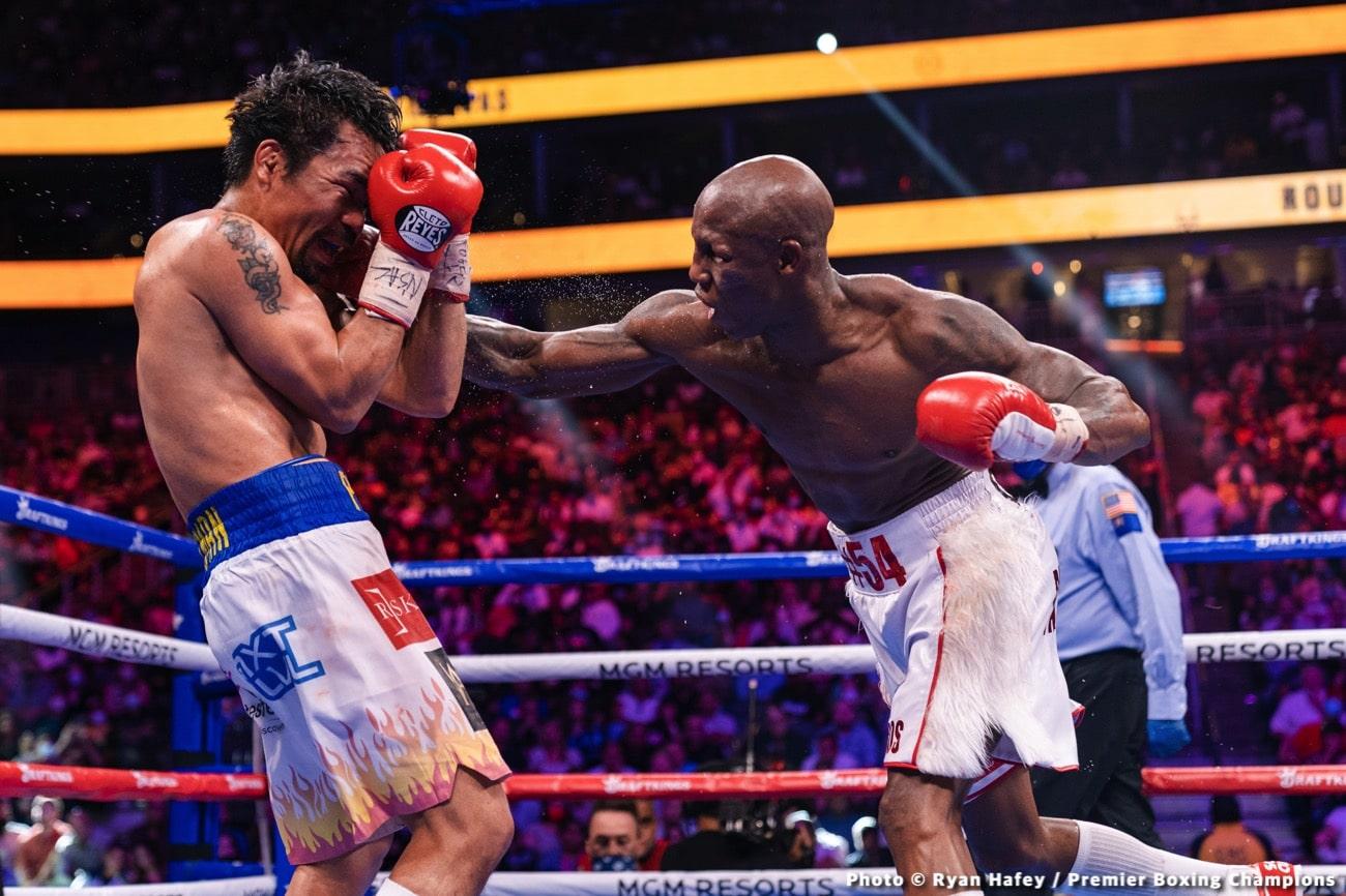 Manny Pacquiao Mikey Garcia Yordenis Ugas