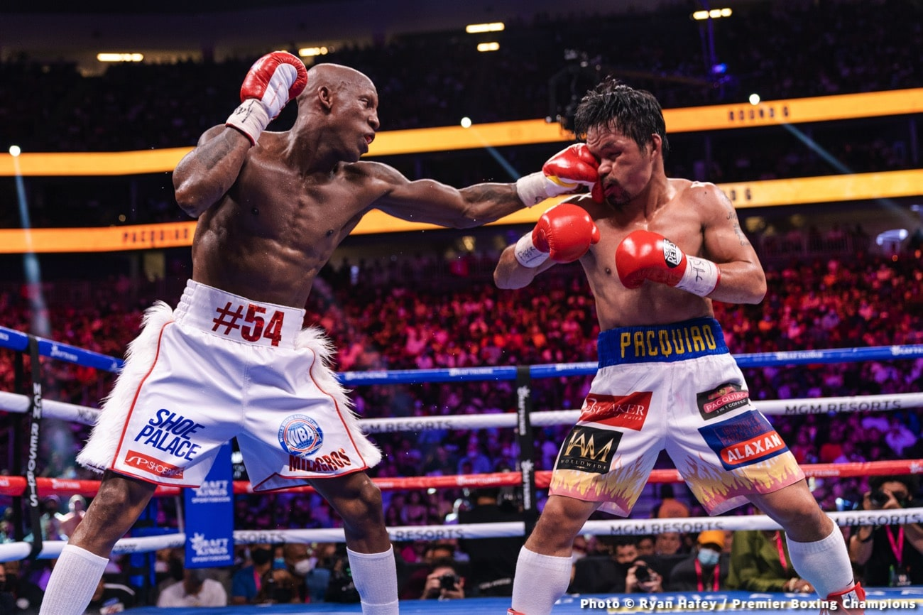 Andre Ward Manny Pacquiao Yordenis Ugas