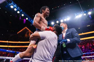 Manny Pacquiao launches his 2022 presidential bid in Philppines