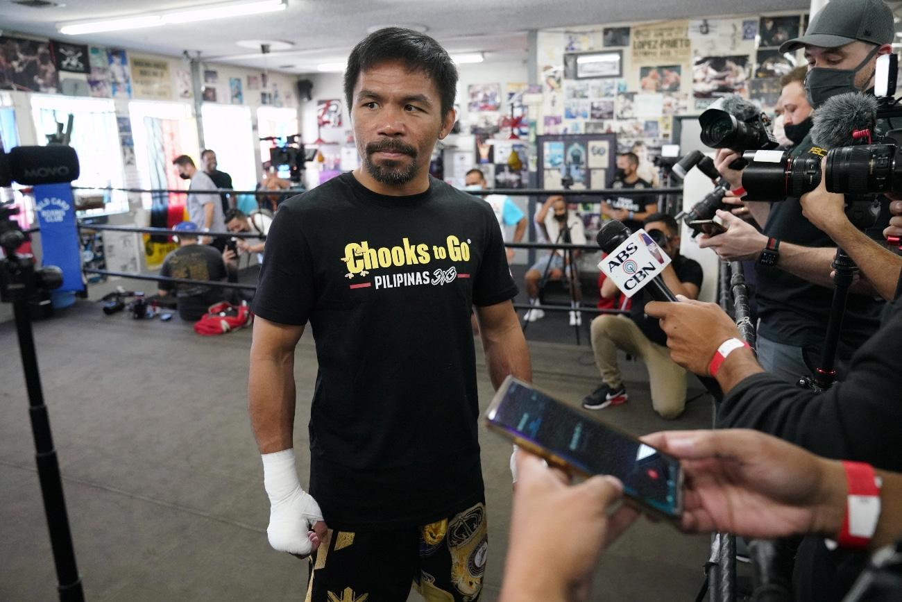 Amir Khan Errol Spence Jr Manny Pacquiao