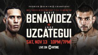 David Benavidez plans on stopping Jose Uzcategui, then facing Canelo vs. Plant winner