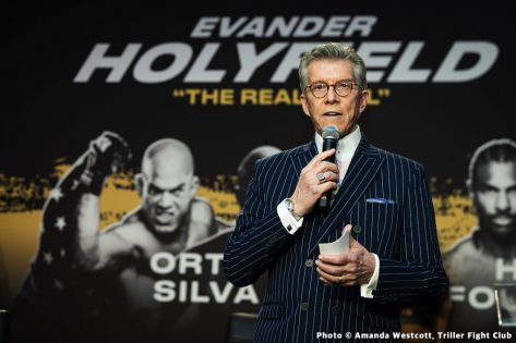- Latest David Haye Evander Holyfield