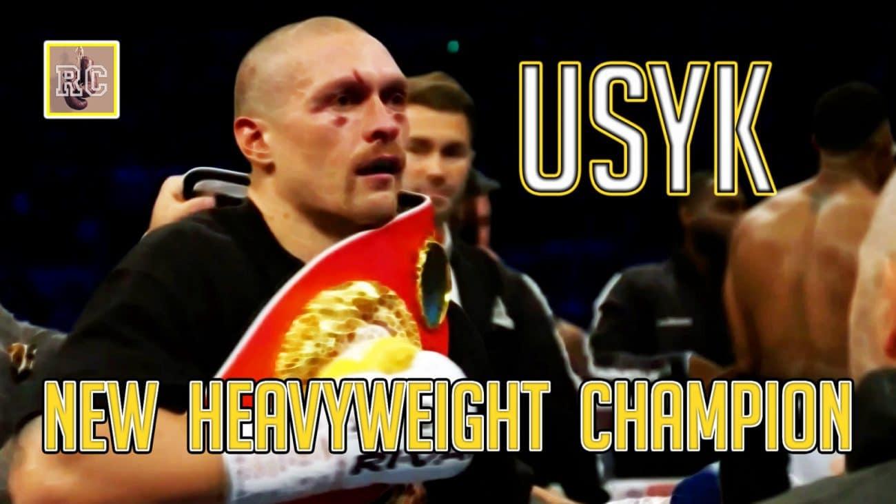 VIDEO: Oleksandr Usyk – New Heavyweight Champion