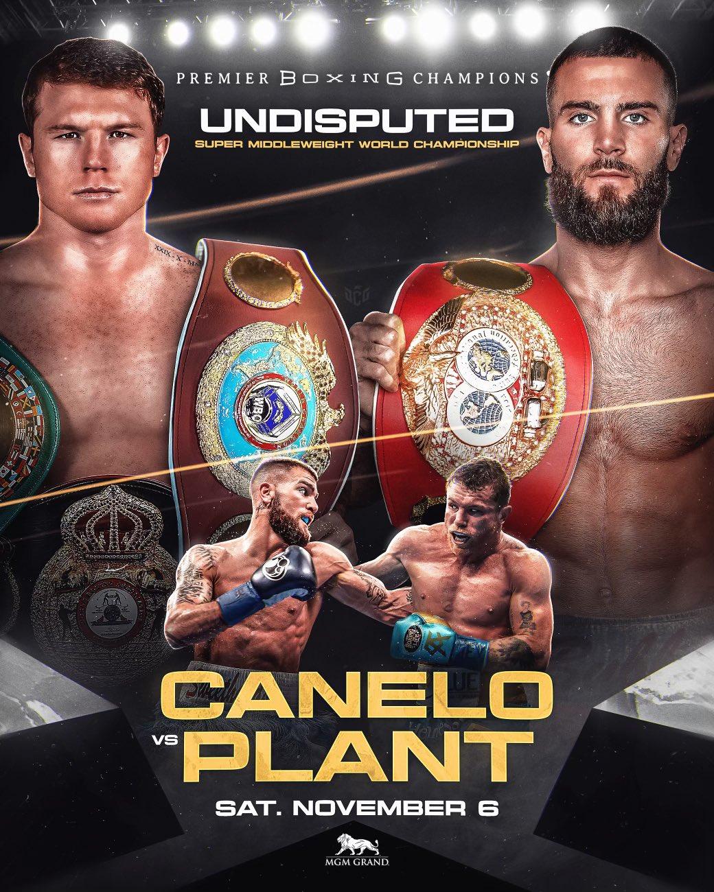 Andre Ward Caleb Plant Canelo Alvarez