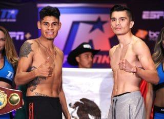 Emanuel Navarrete 125.8 vs. Joet Gonzalez 125.4 – weigh-in results + photos / video