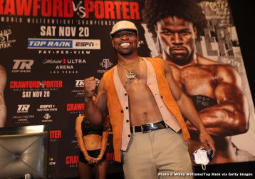 - Latest Shawn Porter Terence Crawford
