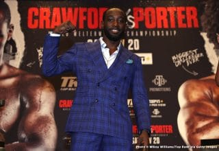 Terence Crawford says he'd beat Canelo, warns Spence not to move up