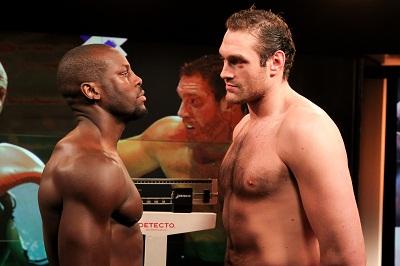 Latest Steve Cunningham Tyson Fury Fury vs. Cunningham Fury-Cunningham