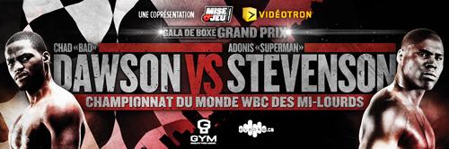 Dawson Stevenson Dawson vs. Stevenson  chad dawson boxing adonis stevenson