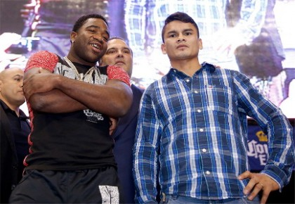 marcos rene maidana adrien broner  photo