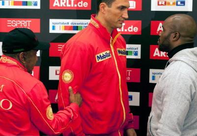 Jean-Marc Mormeck Wladimir Klitschko Klitschko vs. Mormeck Klitschko-Mormeck