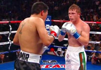 Ricardo Mayorga Ryan Rhodes Saul Alvarez Alvarez vs. Rhodes