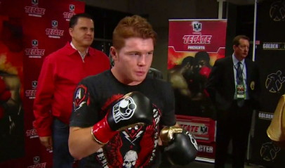 saul alvarez kermit cintron  photo