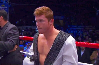 saul alvarez miguel cotto  photo