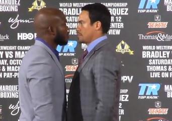 Bradley Marquez Bradley vs. Marquez  timothy bradley juan manuel marquez