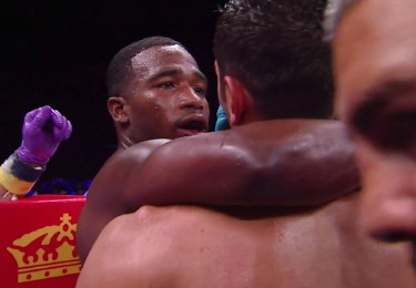 vicente escobedo adrien broner  photo