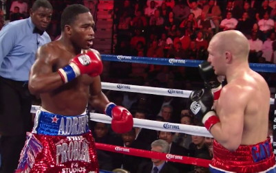 gavin rees floyd mayweather jr adrien broner  photo