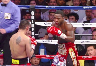 floyd mayweather jr adrien broner  photo