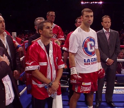 lucian bute jean pascal boxing  photo