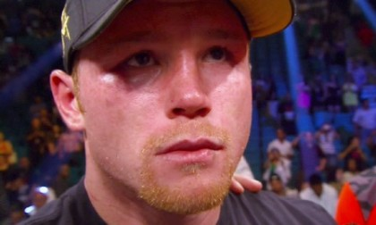 saul alvarez james kirkland  photo