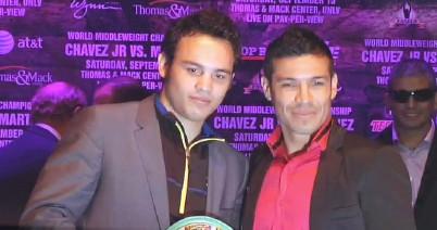 Chavez Jr. vs. Martinez  sergio martinez julio cesar chavez jr