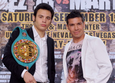 sergio martinez julio cesar chavez jr  photo