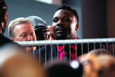 derek chisora david haye  photo