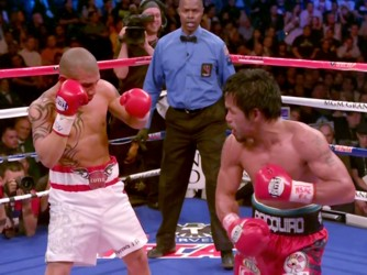 Floyd Mayweather Jr Manny Pacquiao Miguel Cotto Timothy Bradley